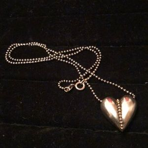 Jewelry - 💥🔥💥❤️VALENTINES DAY ❤️SS Heart Necklace #49